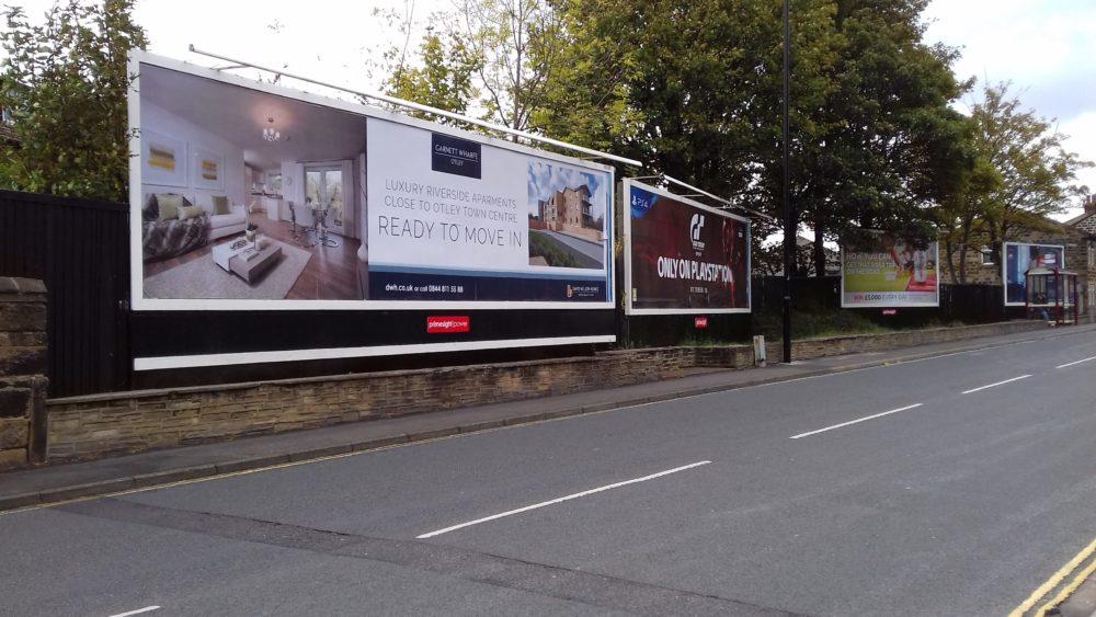David Wilson Homes 2 x 96 sheets in Otley 2