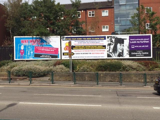 Billboards Mansfield