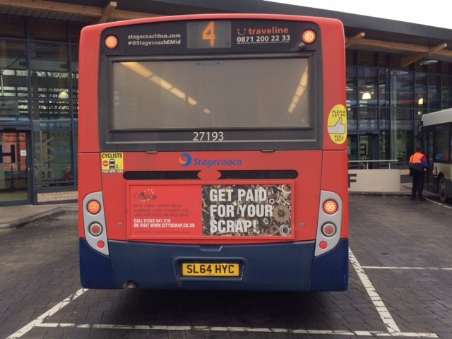 bus advertising lincs